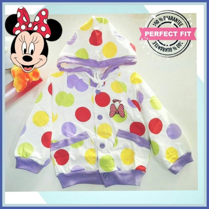 Foto Produk Jaket Hoodie Polka Minnie Size 10 ( 6 Tahun ) Girl Kid Anak Perempuan dari Beli Online Store