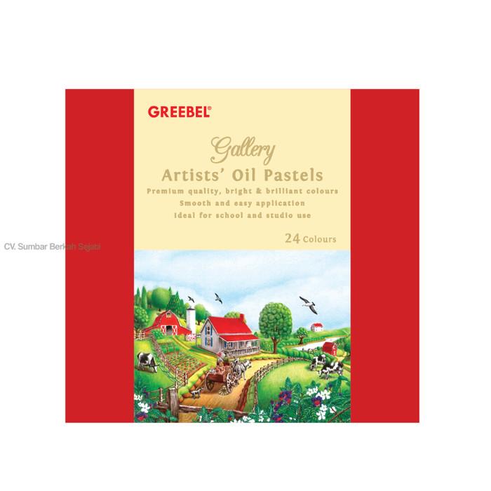 Krayon/Artist Oil Pastels GREEBEL Isi 24