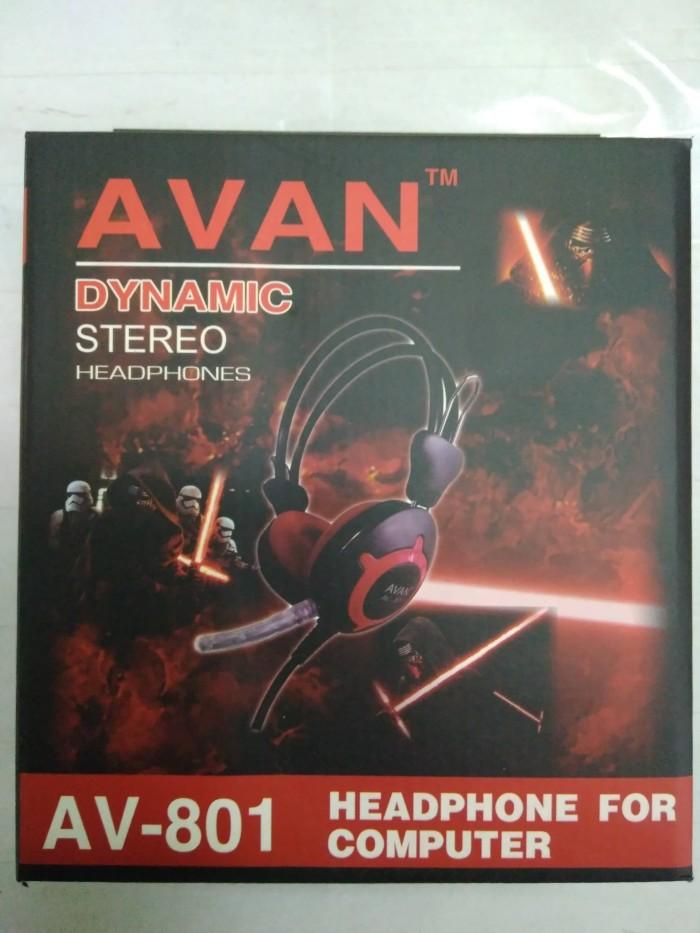 harga Avan av-801 headphone computer Tokopedia.com