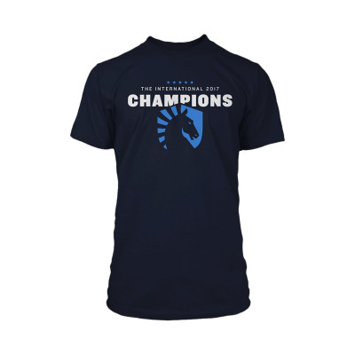 Kaos Gaming - Tshirt Team Liquid Blue Champions 2017