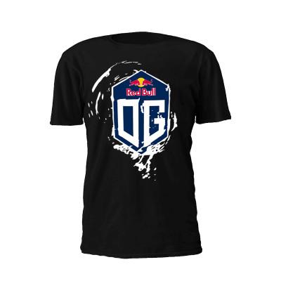 Kaos Gaming Tshirt Team OG Redbull black 2017