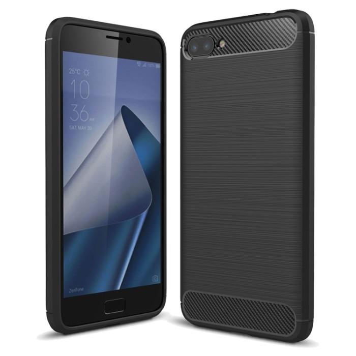 Ss7631 - brushed combination case zenfone 4 max 5.2 inch zc520kl black