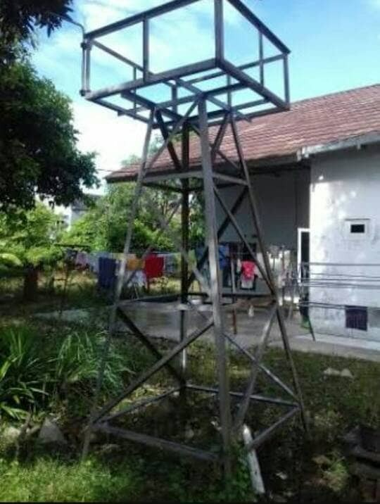 Jual Tower Tiang Besi Siku Menara Untuk Tangki Air Torren