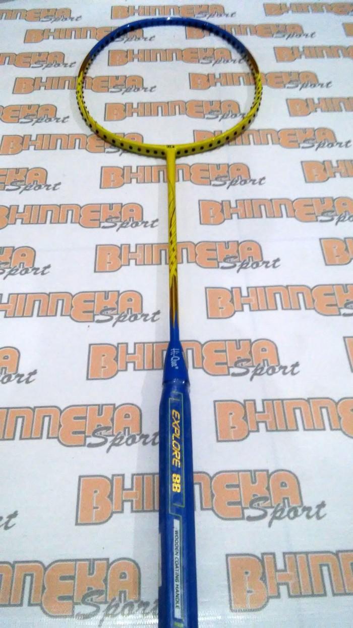 harga Raket badminton hiqua explore 88 batangan Tokopedia.com