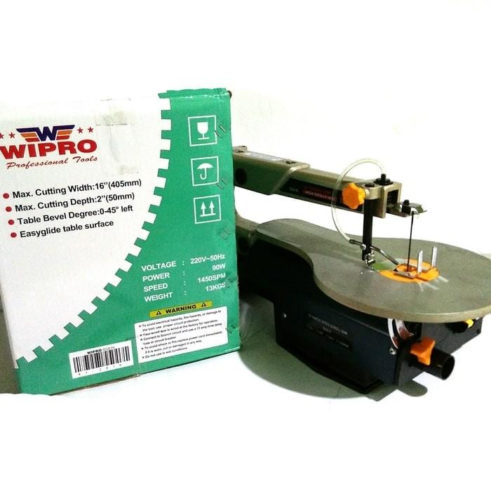harga Wipro mesin scroll saw 16  gergaji potong ukir Tokopedia.com