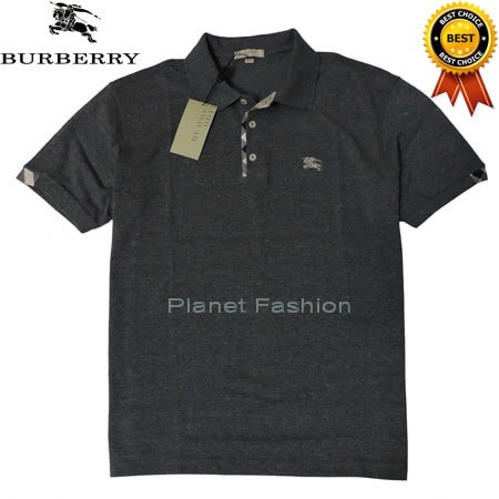 204af15e5 Jual Kaos Polo shirt BURBERRY BRIT original import (Dark Grey ...