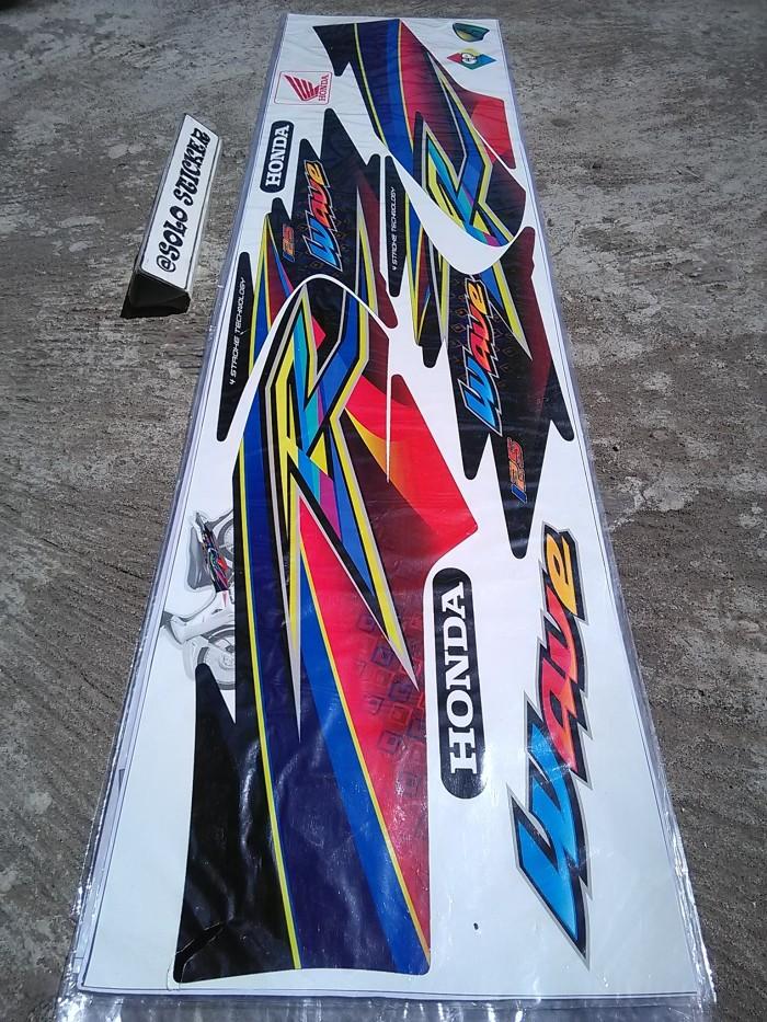 Jual Striping Sticker Variasi Motor Karisma 125 Wave I 5 Solo
