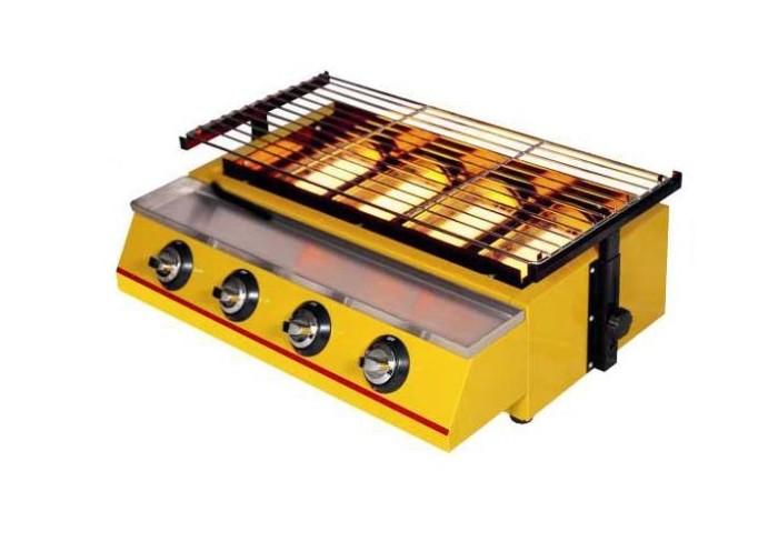 harga Getra panggangan tanpa asap et-k222 gas bbq 4 burner Tokopedia.com
