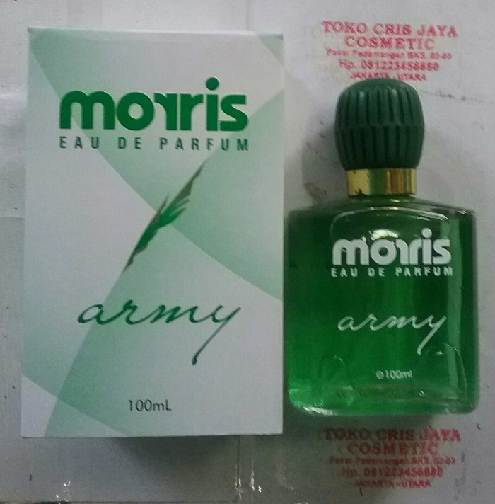 harga Morris eau de parfum army 100ml Tokopedia.com