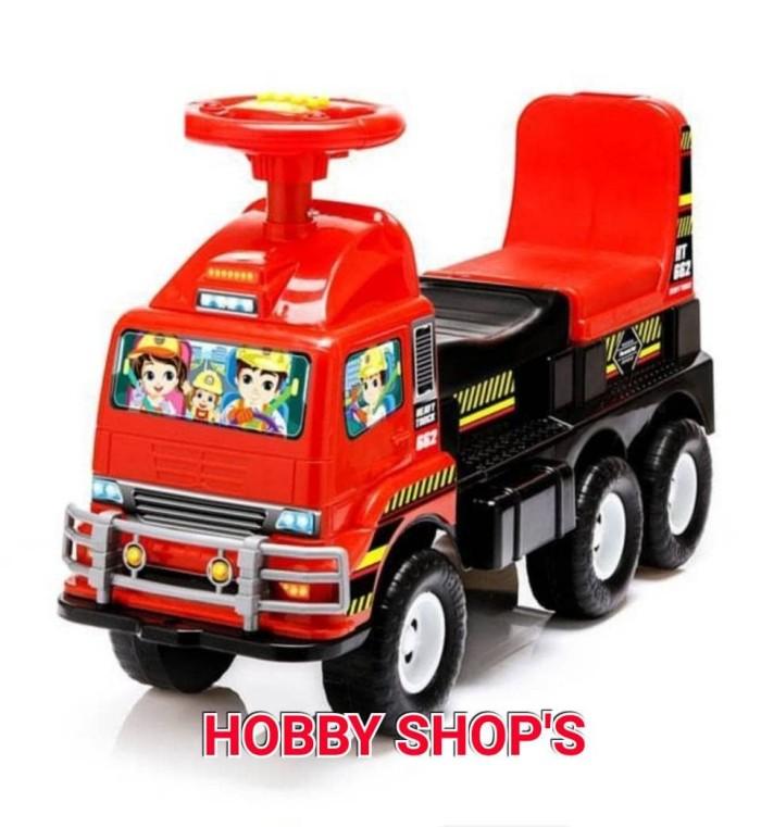 Jual Shp Ht662 Mainan Mobilan Dorong Anak Mobilan Anak Mobilan Truck Anak Kota Tangerang Hobby Shops Tokopedia