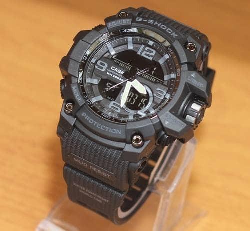 harga Jam tangan g-shock mudresist black grey premium/tahan air Tokopedia.com