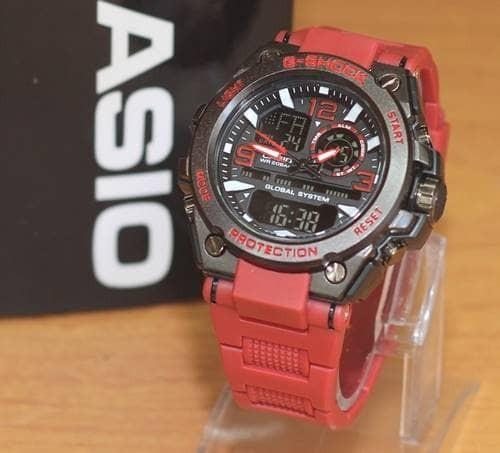 harga Jam tangan g-shock model mika red premium/tahan air Tokopedia.com