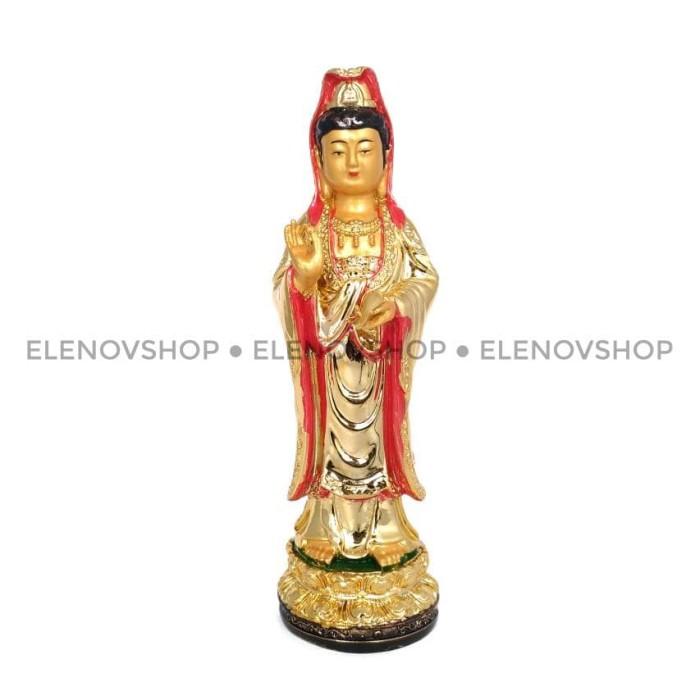 harga Patung rupang dewi kwanim kwan im kwan yin gold emas rg101701 Tokopedia.com