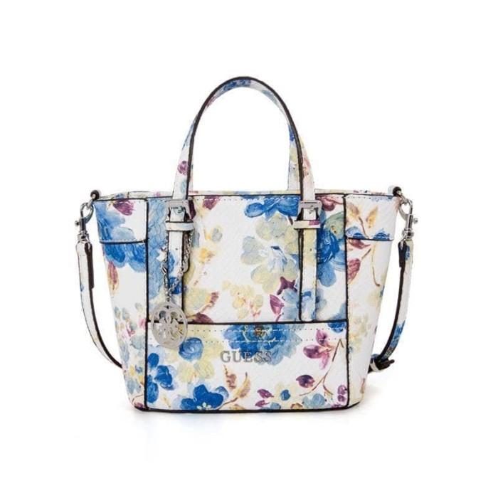 Jual tas guess delaney mini floral blue - Kota Bekasi - Premium ... c2ec974b54cf1