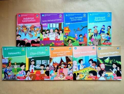 Jual Buku Tematik Kelas 4 Sd Tema 1 2 3 4 5 6 7 8 9 Kurikulum 2013 Kota Semarang Toko Buku Cemerlang Tokopedia