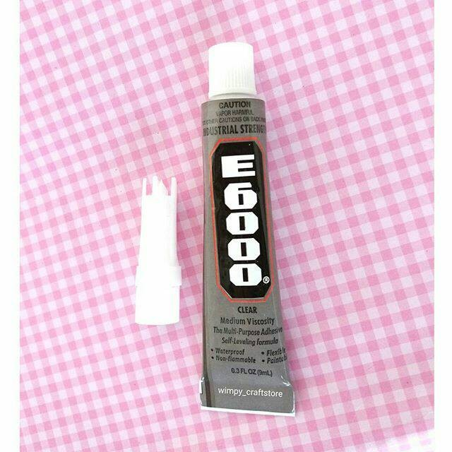 harga Super glue e6000 lem e-6000 lem e 6000 bahan craft bahan aksesoris Tokopedia.com