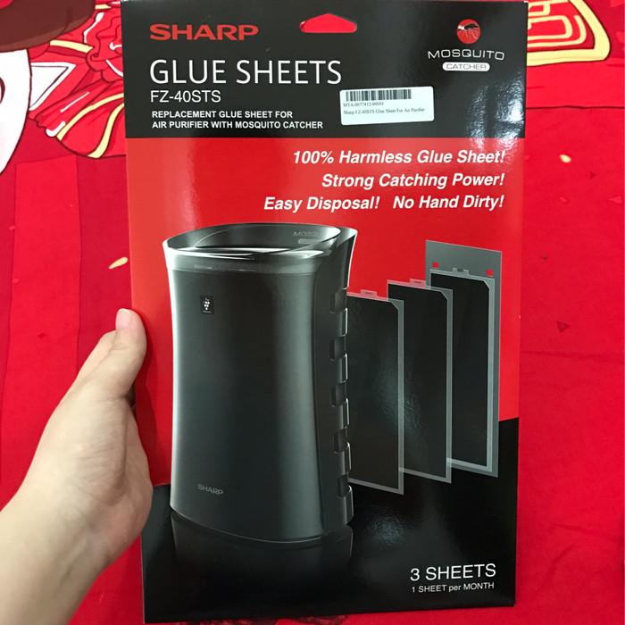 harga Sharp Fz-40sts Glue Sheet For Fp-fm40y-b & Fp-gm30y-b Air Purifier Tokopedia.com