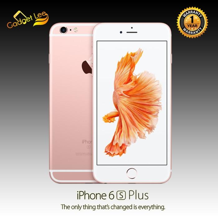 APPLE IPHONE 64GB 6S PLUS ROSE GOLD - GARANSI DISTRIBUTOR 1 TAHUN