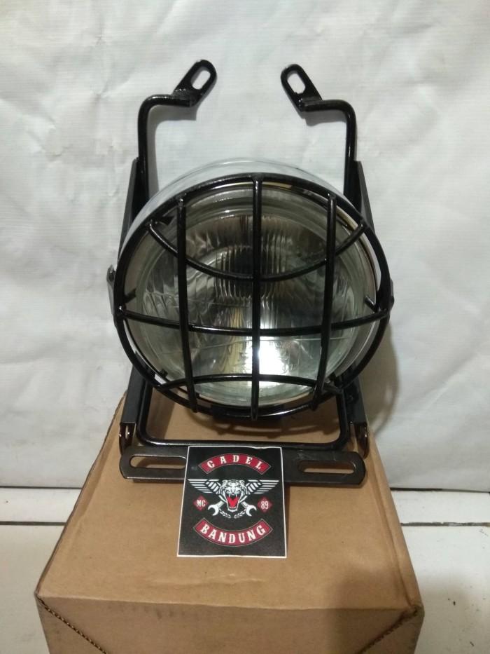 harga Braket pesek scorpio set lampu cb100 autopal plus griil Tokopedia.com