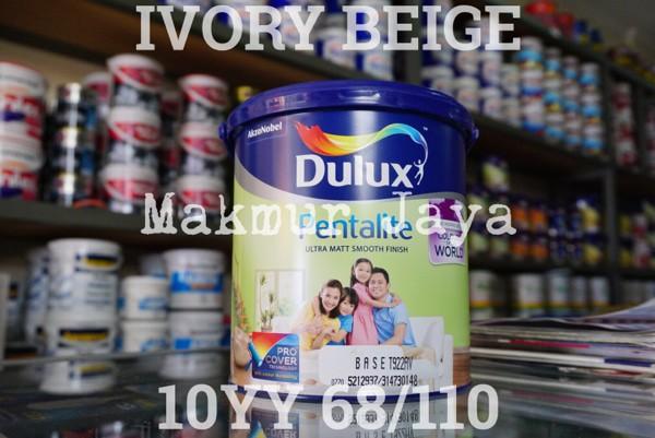 harga Dulux pentalite baker white 40yy 83/064 cat tembok interior Tokopedia.com