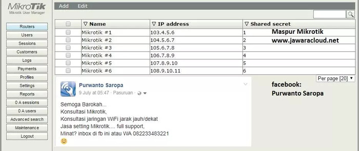Install User Manager Mikrotik Rb750r2 - losttone