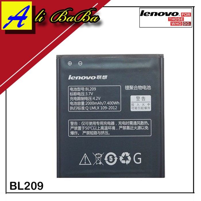harga Baterai handphone lenovo a706 a820 bl209 batre hp battery lenovo Tokopedia.com