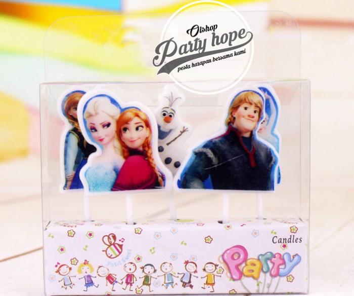 Foto Produk lilin karakter frozen / lilin frozen lilin ulang tahun dari PARTY HOPE 2