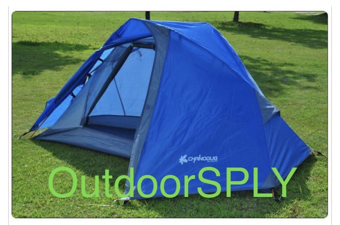 harga Chanodug fx 8921 1 person tent , portable tenda camping hiking Tokopedia.com