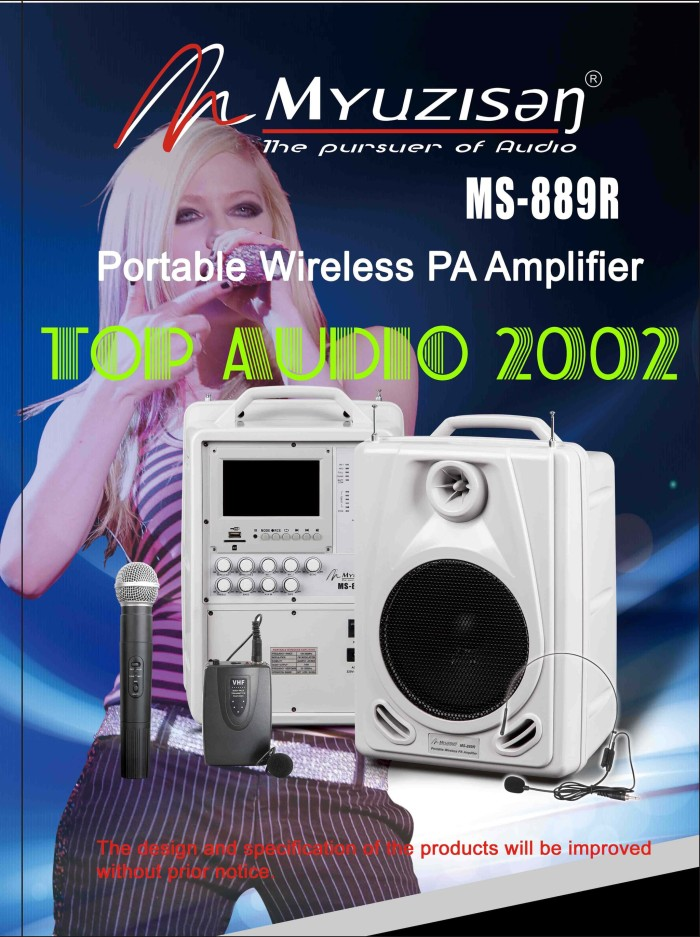 harga Ms 889r speaker portable  amplifier  pa  wireless  meeting Tokopedia.com