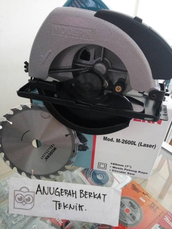 harga Modern m 2600 l mesin gergaji kayu mesin circle Tokopedia.com