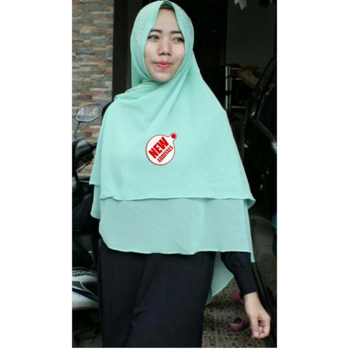 Jual Hijab Jilbab Syar I Payet Press Jumbo 2 Layer Bahan Crap Jakarta Utara Goyang Harga Acc Tokopedia