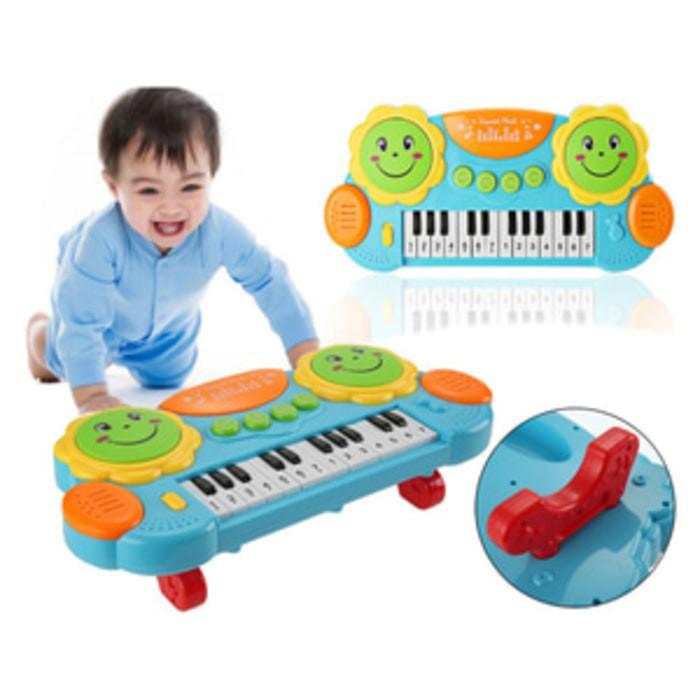 harga Mainan pat drums and  piano - mainan piano anak #3003 Tokopedia.com