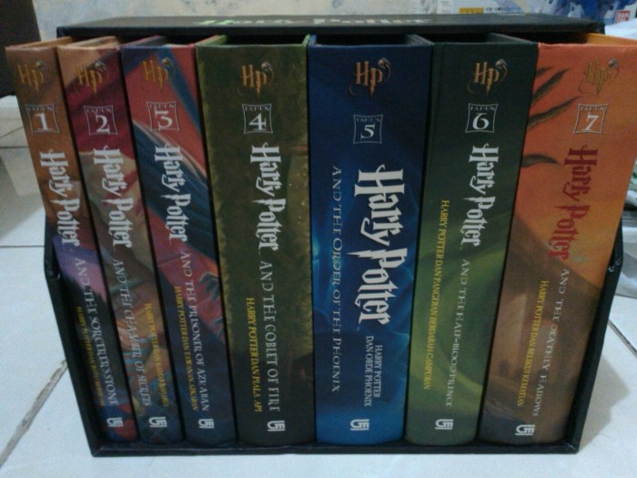 Katalog 1 Set Buku Harry Potter DaftarHarga.Pw