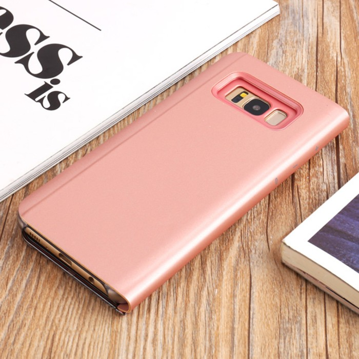 harga Samsung galaxy note 8 stand/standing mirror leather flip cover/case Tokopedia.com