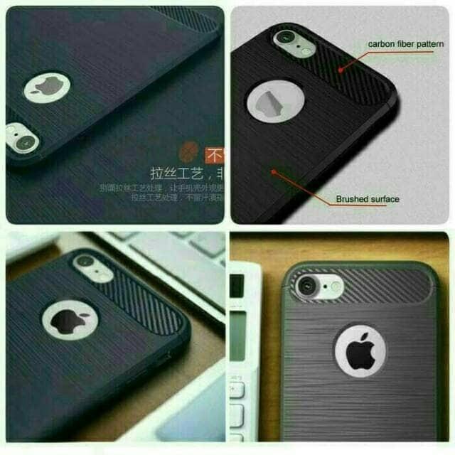 Case Slim Fit Carbon Fiber Iphone 6 6s