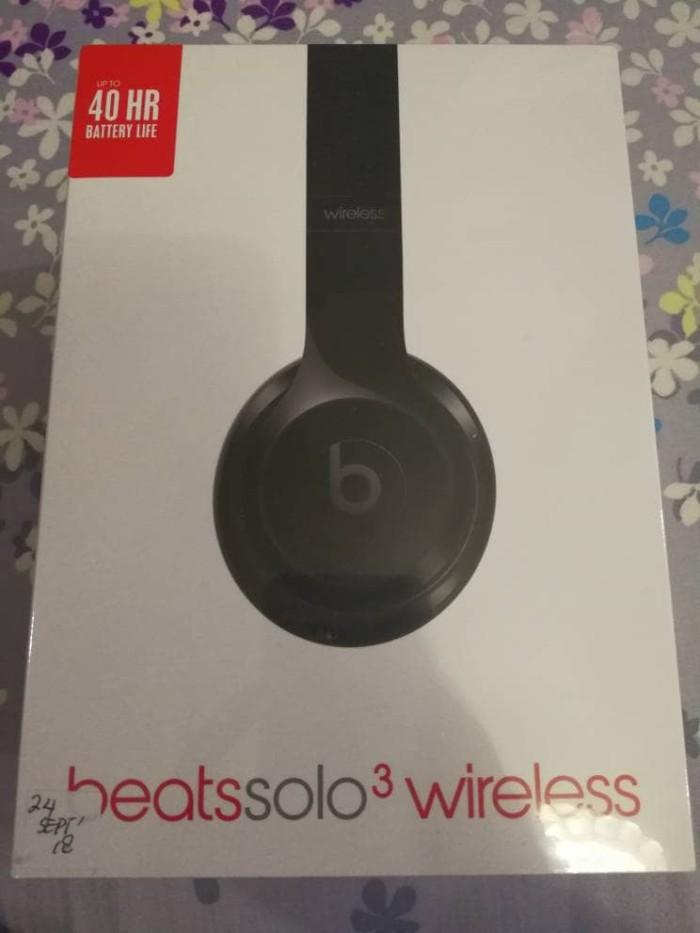 harga Bnib Beats Solo3 Wireless Beatssolo3 Headphone Black Tokopedia.com