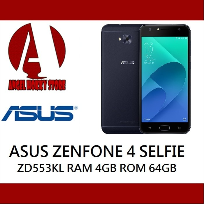 harga Asus zenfone 4 selfie zd553kl 4/64 garansi resmi asus Tokopedia.com