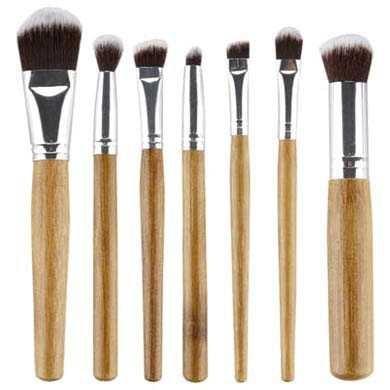 harga Kuas make up bamboo make up 7 set
