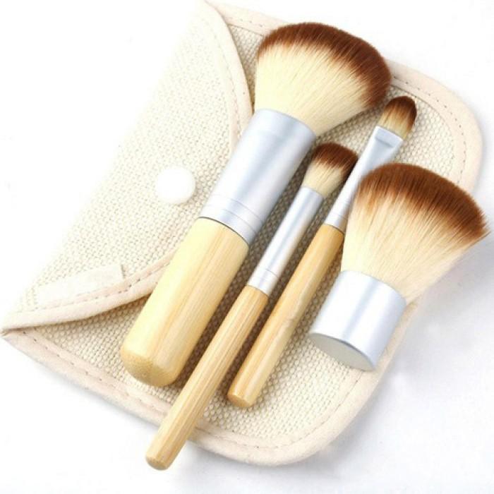 harga Kuas make up bambu 4 set