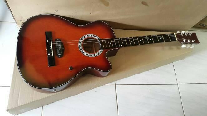harga Gitar akustik elektrik fender sunburst (tas) Tokopedia.com