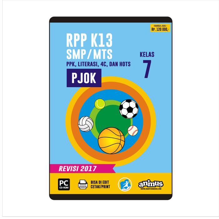 Foto Produk ANIMUS  RPP K13 KELAS 7  PJOK   REVISI 2017 dari SMART EDUMEDIA