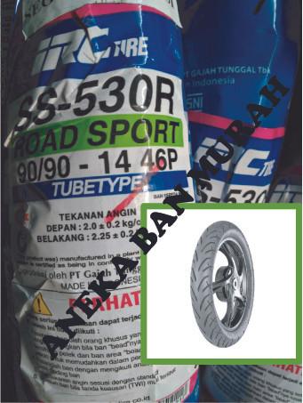 harga Ban motor irc 90/90 - 14 ss530 tubetype Tokopedia.com