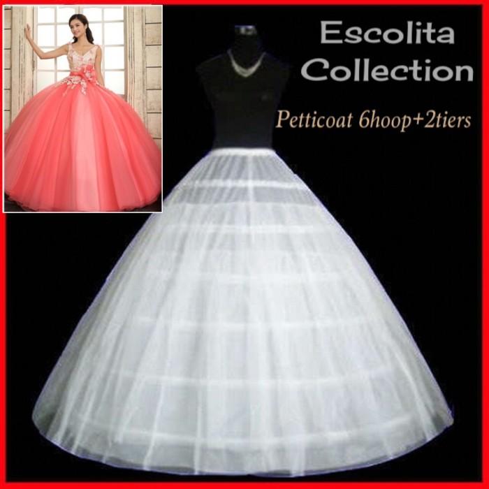 harga Petticoat 6 kawat + 2 tile Tokopedia.com