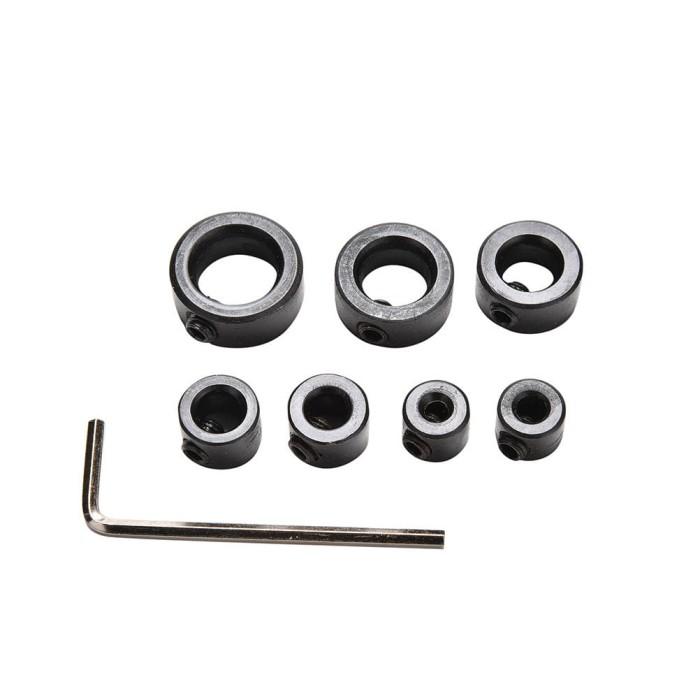 harga Drill stop stopper mata bor collar ring 7 pcs positioner depth 3-12mm Tokopedia.com