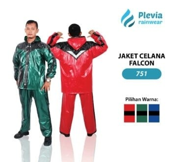 harga Jas hujan jaket celana plevia falcon 751 motor cowok pria rain coat Tokopedia.com