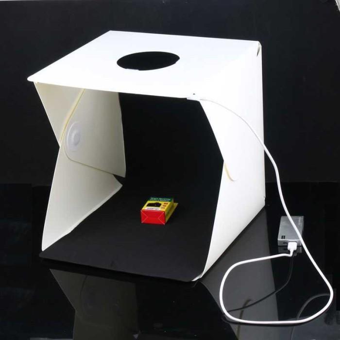 harga Photo studio mini dengan lampu led ukuran l Tokopedia.com