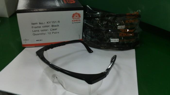 Kacamata Safety KING'S KY 151 R Clear Lens ORIGINAL