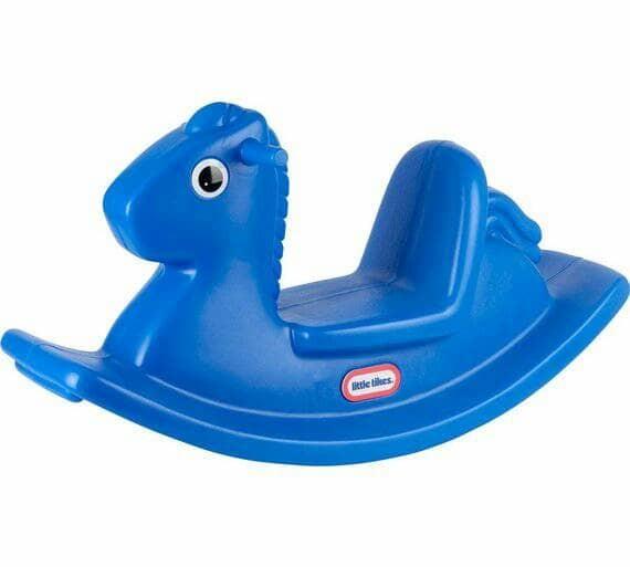harga Little tikes rocking horse blue Tokopedia.com