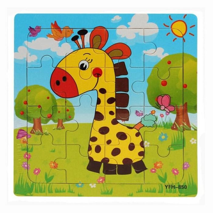 harga Puzzle kayu mini 16 keping seri binatang - mainan edukasi Tokopedia.