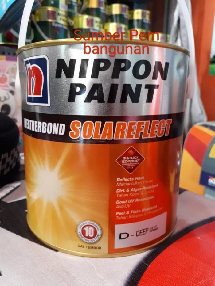 harga Weatherbond solareflect cat tembok tinting / oplos nippon paint Tokopedia.com